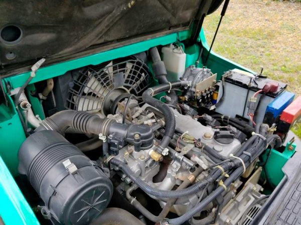 Газокар Mitsubishi FGE25T 3