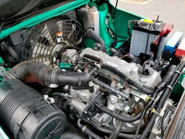 Газокар Mitsubishi FGE15T 4