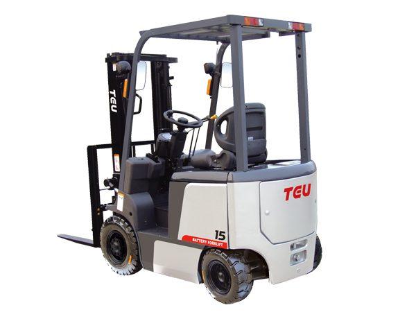 Електрокар четириопорен TEU 1,5-4 тона
